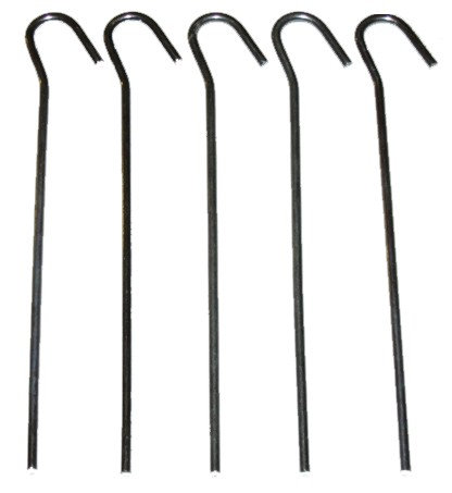 5pc Small Tent Pegs  sc 1 st  Tools and Leisure.co.uk & Small Tent Pegs - Metal Tent Pegs | Tools u0026 Leisure