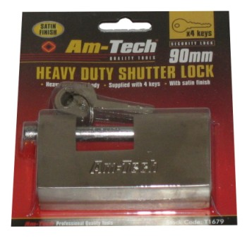 Am-Tech 90mm Heavy Duty Shutter Lock
