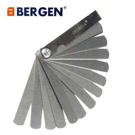 Bergen Tools 32 Blade Feeler Gauge Metric and Imperial