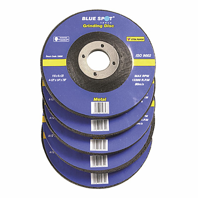 "Blue Spot 4 1/2"" (115mm) Metal Grinding Disc"