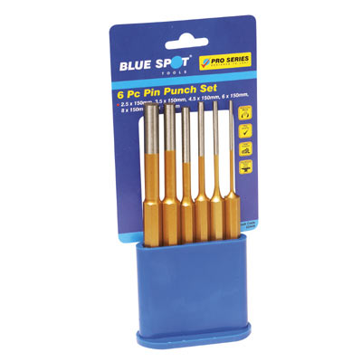 Blue Spot 6pce Pin Punch Set