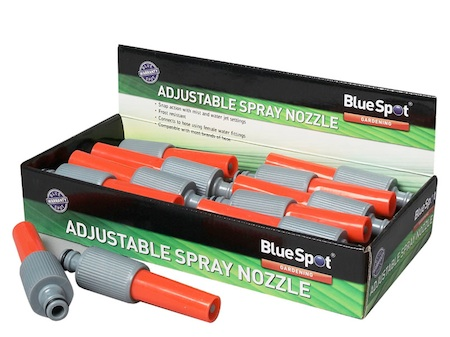 Blue Spot Adjustable Spray Nozzle | Hose Sprayer | 56052