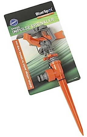 Blue Spot Spiked Impulse Garden Sprinkler - 56070 | Tools & Leisure