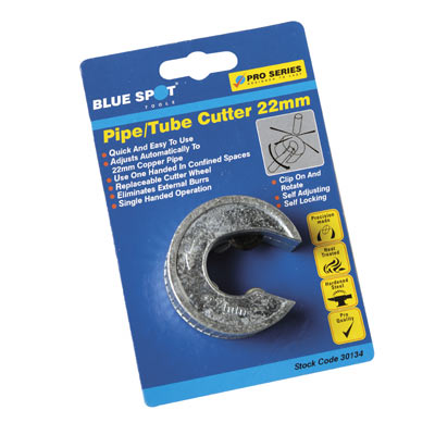 Blue Spot Tools Pipe Slice Tube Cutter 22mm