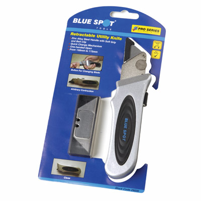 Blue Spot Tools Retractable Utility Knife