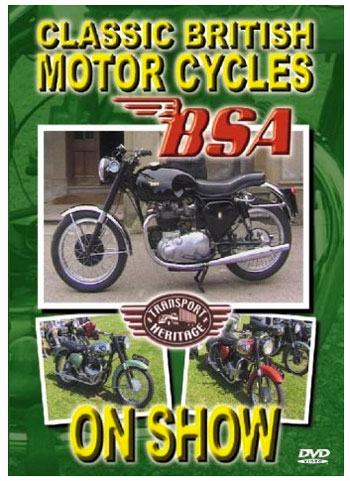 DVD - Classic British Motorcycles On Show - BSA