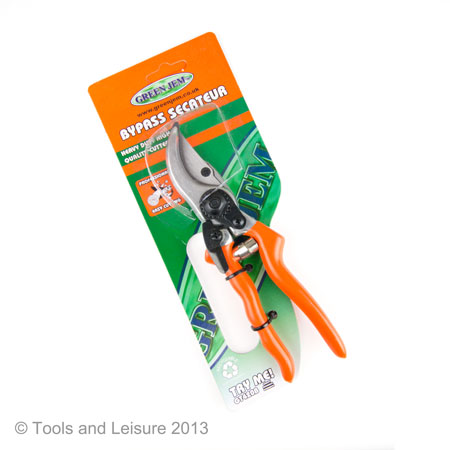 Green Jem Heavy Duty Bypass Secateur | Secateurs
