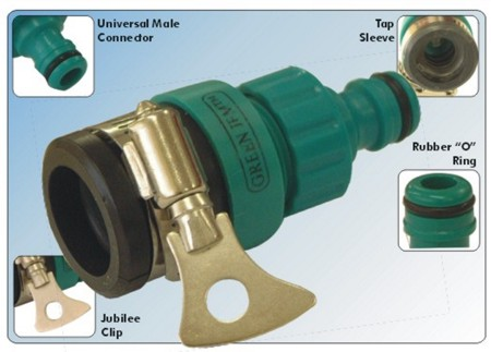 Green Jem Jubilee Type Tap Connector