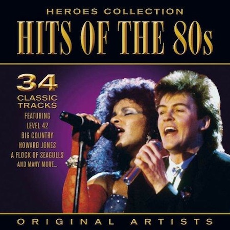 Hits of the 80s - 2CDs - Heroes Collection