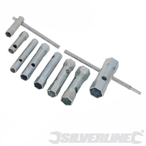 Silverline 8pc Metric Box Spanner Set