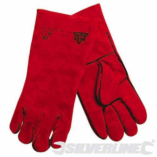 Silverline Welders Gauntlets -  Gloves, 282389 | Tools & Leisure