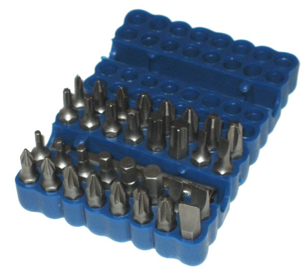 Toolzone 33pc Screwdriver Bit Set | Power Bits