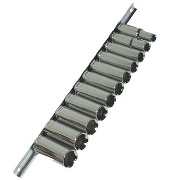 "Toolzone Tools 11pc 3/8"" Drive Deep Socket Set"