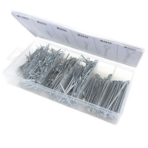 Toolzone Tools 555pc Cotter Pin Assortment