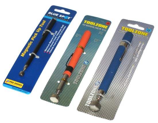 Toolzone Tools 8lb Magnetic Pick Up Tool | Tools & Leisure