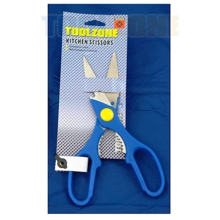 Toolzone Tools Stainless Steel Kitchen Scissors
