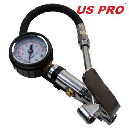 US Pro by Bergen Tools Air Tyre Inflator With Gauge